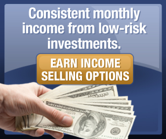 Earn income selling options. It's easy. Click here!