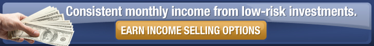 Earn income selling options. Click here!