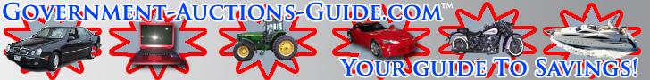 Government-Auctions-Guide.com- Your Guide to Savings!