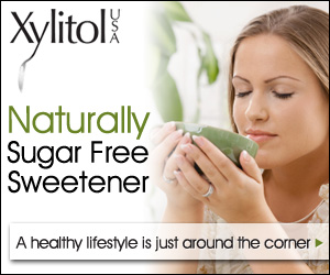 XylitolUSA has a natural sweetner that is safe for diabetics and good for all of us.  Their products are made with Xylitol which is a sweetner that comes from USA birch trees and is made in  green facilities