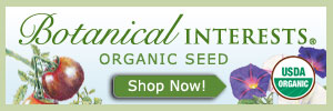 Organic seed from Botanical Interests