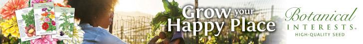 Botanical Interests Share a sale banner