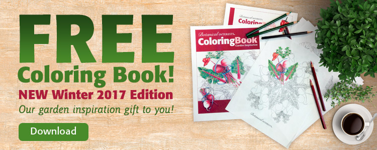 Botanical Interests Free Coloring Book