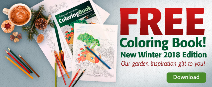Free Coloring Book from Botannical Interests