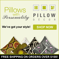 Shop decorative pillows and get FREE SHIPPING on orders over $100 from Pillow Decor! Pillows with Personality, we've got your style. Shop now!