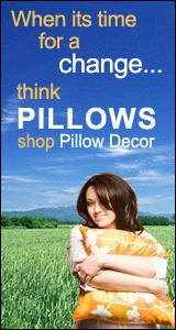 Time for a change? Shop Pillow Decor!