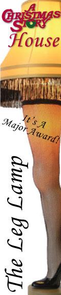 A Christmas Story Leg Lamp Major Award