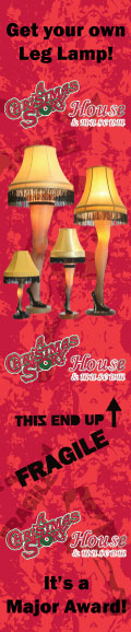 A Christmas Story Leg Lamp Major Award