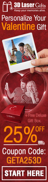 Personalized Valentine's Day Gift 25% off with code: GETA253D - Create yours now