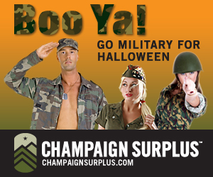 Go Military for Halloween
