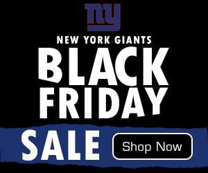 New York Giants Black Friday Weekend Deals