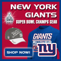 Shop 2011 NFC Champion Gear at the Official Online Team Store of the New York Giants