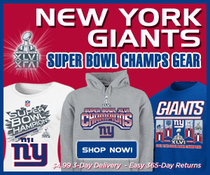 Shop 2012 Super Bowl Champs Gear at the Official Online Team Store of the New York Giants