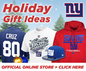 Shop for all your Holiday Gifts at the official online store of the New York Giants!