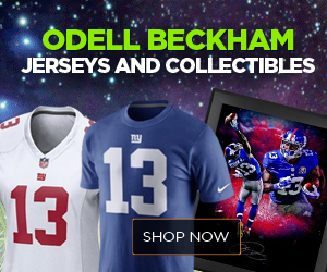 Odell Beckham New York Giants Jerseys and Collectibles