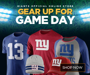 Eli Manning New York Giants Jersey and Collectibles