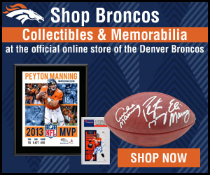 Shop Collectibles and Memorabilia at the official online store of the Denver Broncos!