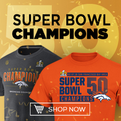 Shop Denver Broncos Super Bowl Gear