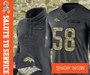 Denver Broncos Salute To Service Gear