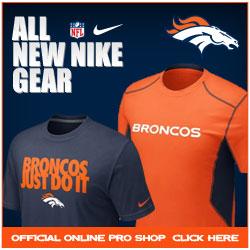 Shop for 2012 Nike Broncos Team Fan Gear