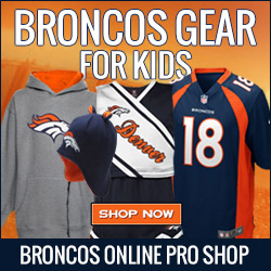 Shop for Broncos Gear for your Kid Fans at Shop.DenverBroncos.com