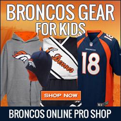 Shop for Broncos Gear for your Kid Fans at Shop.DenverBroncos.com