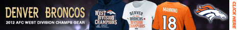 Shop for all AFC West Division Champs Gear at the official online store of the Denver Broncos!