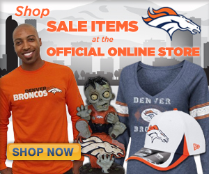 Save up to 50% on select Sale Items at the Official Online Store of the Denver Broncos!