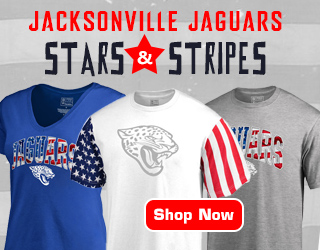 Salute The Flag With Jacksonville Jags Stars & Stripes Gear!
