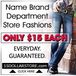Name Brand Department Store Fashions Only $15 each