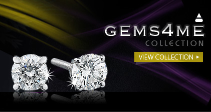 View gorgeous diamond stud earrings and excellent prices over at Gems4Me