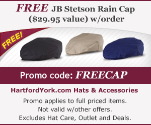 Free $29.95 Cap w/Purchase