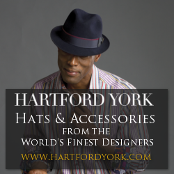 Designer Men's Hats from Hartford York