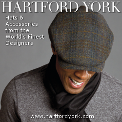 Designer Men�s Hats from Hartford York