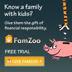 Know a family with kids? Give them a FamZoo gift subscription and help 
