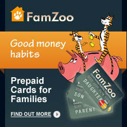FamZoo Prepaid Cards for Families