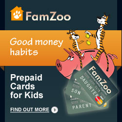 FamZoo Prepaid Cards for Kids