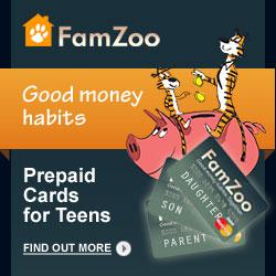 FamZoo Prepaid Cards for Teens