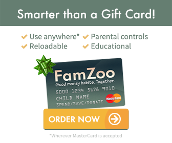 A FamZoo Prepaid Card: the Smart Way to Give Kids and Teens Money