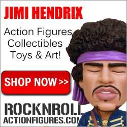 Buy Jimi Hendrix Merchandise at Rock-n-Roll-Action-Figures.com