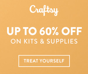 Up to 60% Off Kits & Supplies To Knit, Quilt, Crochet & Sew at Craftsy.com through 7/15/18. No coupon needed.