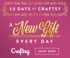 12 Days Of Craftsy - A New Gift Every Day! Stock up for the holidays while you still can! Get the best deals on classes, kits, supplies and more. Celebrate 12 Days of Craftsy 12/1-12/12/18 at Craftsy.com.