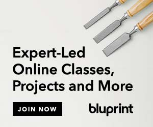 Watch woodworking classes at myBluprint.com