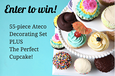 Make Party-Perfect Cupcakes with Craftsy' s Baking Set Giveaway!