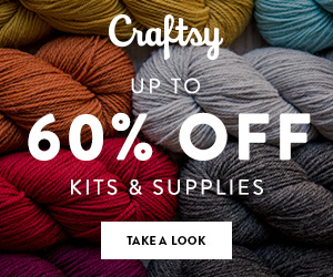 Up to 50% Off Quilt, Knit & Crochet Kits & Supplies