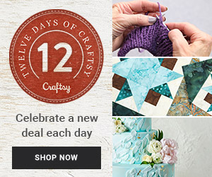 Craftsy's Stuff your Stocking Flash Sale 12/11-12/12
