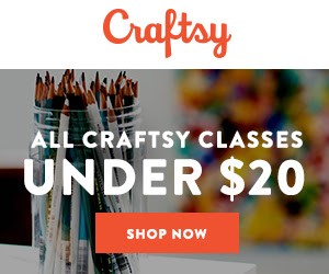 All Craftsy Classes Under $20 at Craftsy.com 6/8-6/10/18. No coupon code needed.