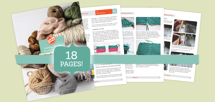 Affiliate advertisement for Craftsy ebooks