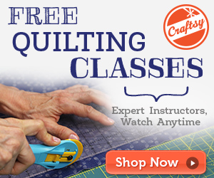 Craftsy Machine Quilting with Templates