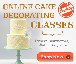 modern piping cake decorating online class at Craftsy.com